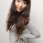 ウェーブスタイル・ヘアカラー|横浜市、青葉区、藤が丘、美容室、フラップヘアー