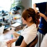 ブライダルヘアーメイク|青葉区、藤が丘、美容室、フラップヘアー