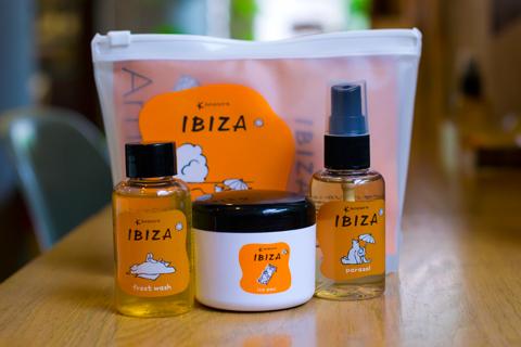 amadora ibiza・coolシャンプー・美容室フラップヘアー・藤が丘