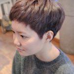 カット,カラー,ショートヘアー,刈り上げ,美容室,フラップヘアー,横浜市青葉区